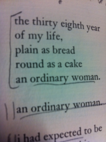 'the thirty eighth year' - an ordinary woman by lucille clifton